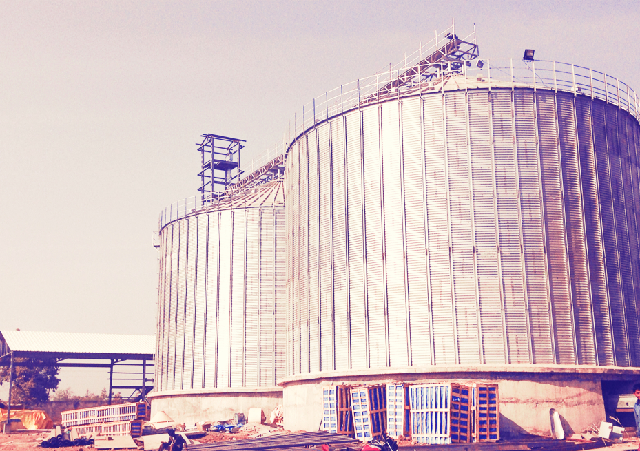Raw Material Storage , Milling & Handling Plant